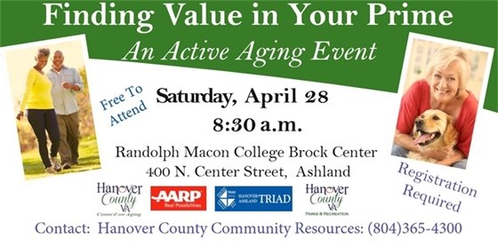 Finding Value in Your Prime Active Aging Event