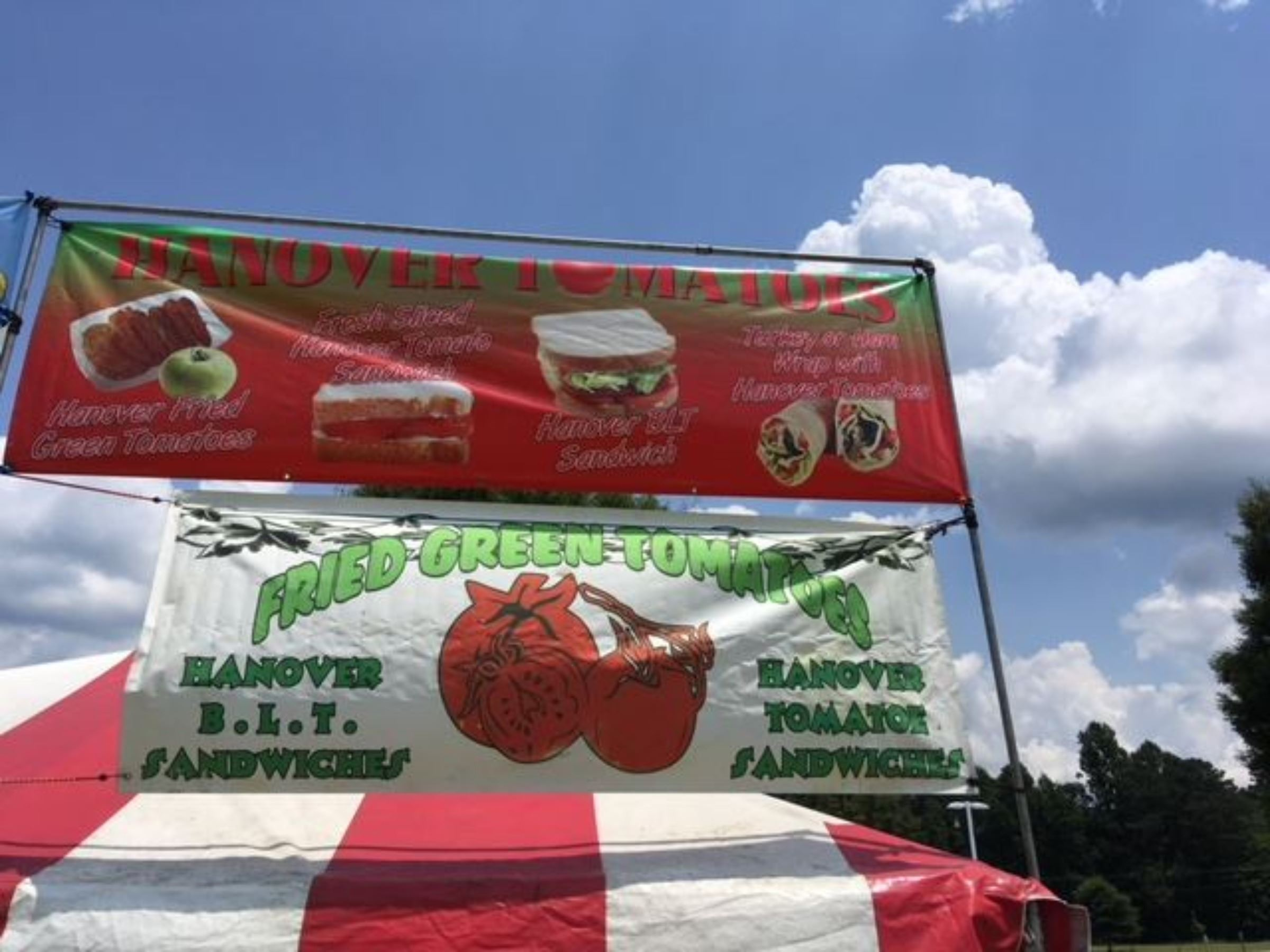Fried Green Tomatoes Booth
