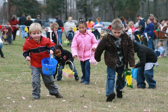 Easter Egg Hunt at Montpelier
